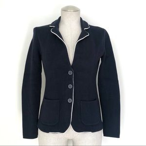 Banana Republic Sweater Blazer in Navy Size XS